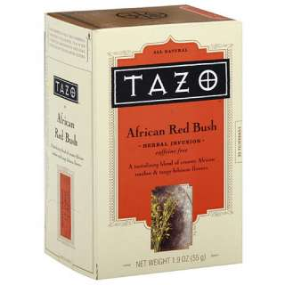 Tazo African Red Bush Tea, 20ct (Pack of 6): Beverages
