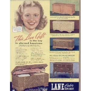 PRISCILLA LANE says Its lots of fun collecting for my Lane Cedar