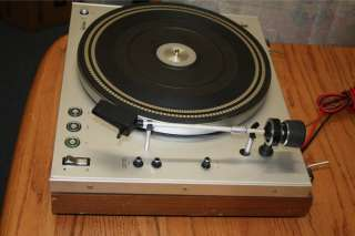 Philips Electronic 312 Belt Drive Turntable Record Player
