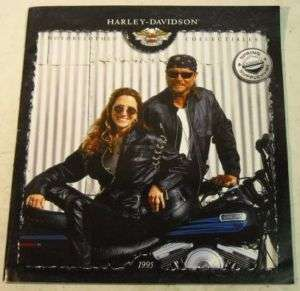 Harley Davidson Motorcycle 1995 Clothing Sales Brochure
