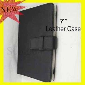 Leather Flip Case Cover Bag For 7 MP4 MP5 GPS Kindle Fire 7
