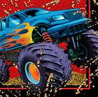 monster truck party supplies