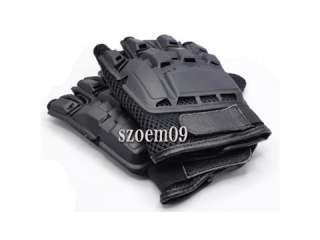 AK Army Half Finger Airsoft Combat Tactical Military Gloves Size L