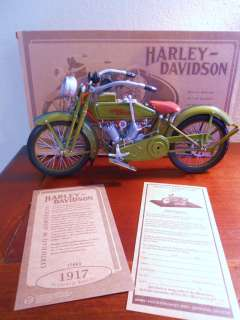 Harley Davidson 1917 Diecast Metal 1/6 Motorcycle Xonex NEW in BOX