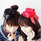 Cute Lovely Hair Clip Bowknot Mini Top Hat Accessory