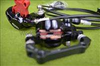 2012 Avid Elixir 9 HYDRAULIC DISC Brakes Front & Rear Black without