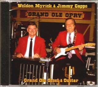 JIMMY CAPPS WELDON MYRICK Grand Ole Steel & Guitar OPRY