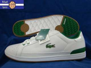 LACOSTE CONVECT LACE MR WHITE GREEN MENS CASUAL SHOES