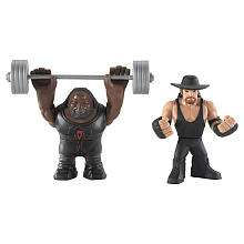 WWE Rumblers Action Figures 2 Pack   Undertaker & Mark Henry   Mattel