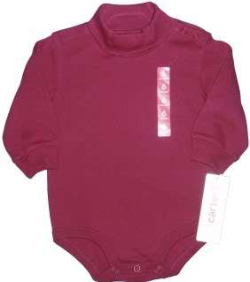 TURTLENECK GIRLS BOY SHIRT BODYSUIT NWT NEW LONG SLEEVE