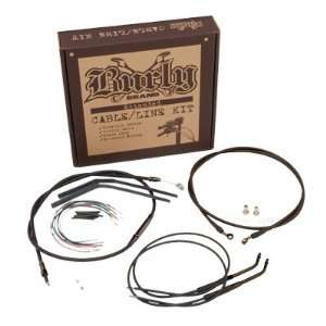 Burly B30 1009 Cable/Brake Line Kit for 14 Height