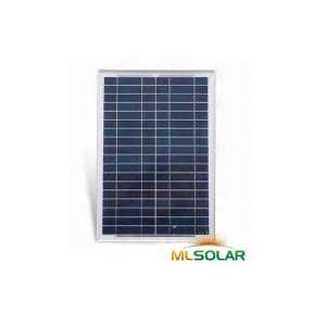 20W Solar Panel Made with A Grade Solar Cells Patio, Lawn