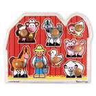 Melissa & Doug Toys Jumbo Knob Farm Puzzle