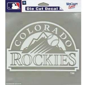 Colorado Rockies   Logo Cut Out Decal MLB Pro Baseball