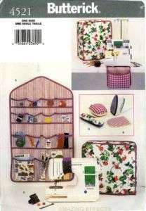 Butterick Pattern 4521   SEWING ROOM covers, organizer