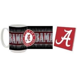 Alabama Mug & Coaster Gift Box Combo Alabama Crimson Tide