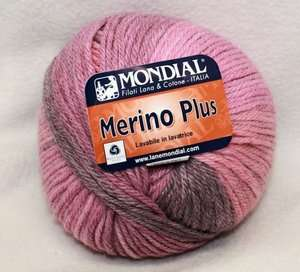 Super Soft Mondial MERINO PLUS Multi Worsted Wool Yarn ~ 585