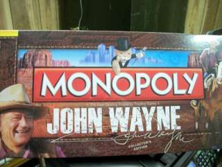 JOHN WAYNE COLLECTORS EDITION MONOPOLY