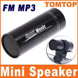 Sport Bicycle Bike Mini FM TF  Player Music Speaker Aluminium Alloy