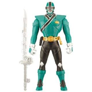 Power Rangers Samurai Green 6.5 Morphin Action Ranger