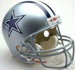 Cowboys Riddell Replica Full Size NFL Helmet New