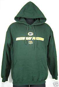 New Mens XL GREEN BAY PACKERS NFL Rodgers Hoodie Jacket
