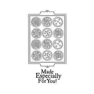 Unity Stamp   Itty Bitty Collection   Unmounted Rubber Stamp