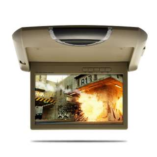 Inch Car Roof Mount LCD Monitor Video (Space Saving Design)
