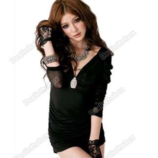 2011 New Korean Womens Sexy Slim Fitting Blending Series Mini Dress