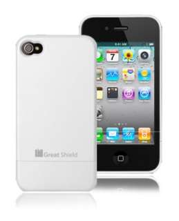 iSlide Slim Hard Protective Case Cover for iPhone 4 4G WHITE