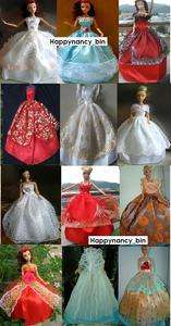 pcs Fashion Barbie Doll sized Clothes/Dresses NEW Good gift for girl