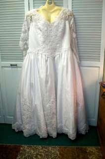NWT BRIDAL WEDDING GOWN DRESS PLUS SIZE 26