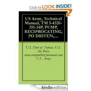 US Army, Technical Manual, TM 5 4320 251 24P, PUMP, RECIPROCATING, PO