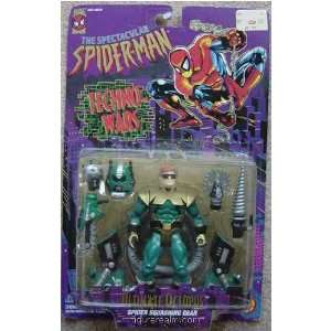 from Spider Man (Toy Biz) Techno Wars Action Figure Toys & Games