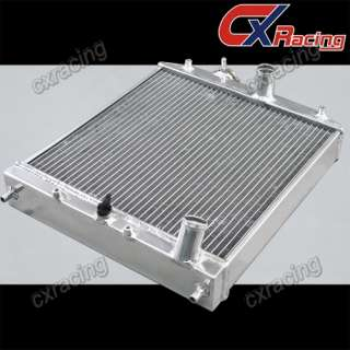92 00 HONDA CIVIC DEL SOL 3 ROW 60MM ALUMINUM RADIATOR