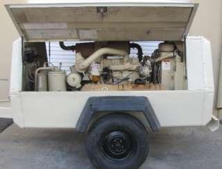 Ingersoll Rand 185 CFM Air Compressor John Deere Diesel