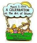 Disney Winnie Pooh Friendship Day Pin 2006 Dangler