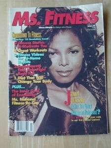 MS. FITNESS bodybuilding female muscle exercise figure/Janet Jackson