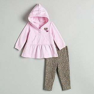 Infant Girls Hoodie with Leopard Print Legging Set  Carters Baby