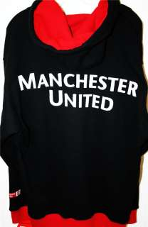 Manchester United Thick Hoodie Track Jacket Jersey ALL SIZES and
