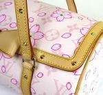 Vuitton PINK Cherry Blossom Papillon MURAKAMI Hand Bag #920