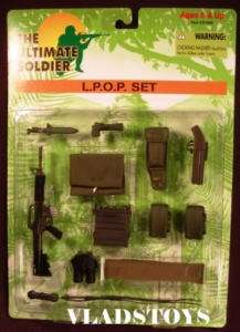 Ultimate Soldier 16 US Army L.P.O.P. accessories set