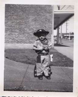 SNAPSHOT Little Boy Cowboy Outfit w/hat & Gun