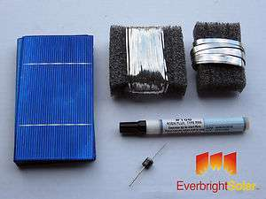 80   3x6 Solar Cells for Diy Panels Untabbed Grade B