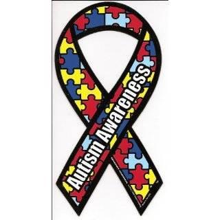Puzzle Car Magnet 8 X 4 Autism Awareness Puzzle Piece Car Magnet