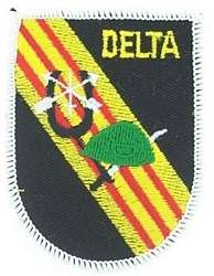 ARMY DELTA FORCE SPECIAL FORCES GREEN BERET PATCH