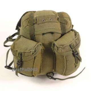 Hot Toys Navy Seal Vietnam M60 Gunner Arvn Backpack
