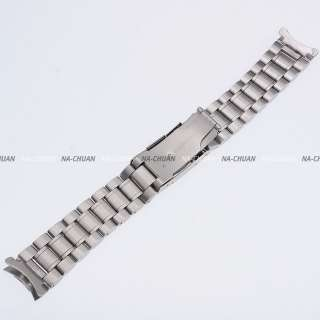 KS Official Stainless Steel Silver Tone 20MM Watch Band Bracelet Pin