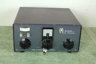 Murch UT 2000 2k High Power Roller HAM Radio Antenna Tuner