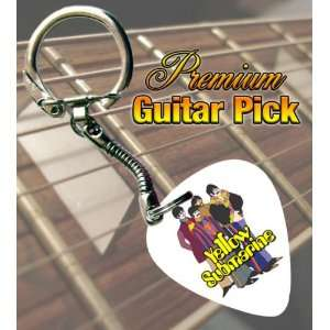 Beatles Yellow Submarine Premium Guitar Pick Keyring